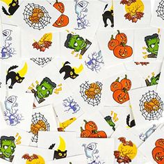 RINCO Halloween Temporary Tattoos (144 Piece) >>> For more information, visit image link. (This is an affiliate link) #NoveltyGagToys