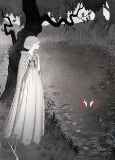 Lovely Ink-Isabella Mazanti's illustrations for Sheridan Le Fanu's Carmilla