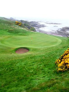 Scottish Links Golf Courses | turnberry resort kintyre golf course 8th
