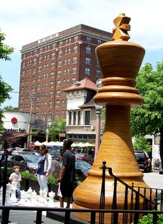 World Chess Hall of Fame in Central West End (CWE), St. Louis, Missouri