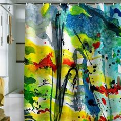 Shower Curtain Aquatica