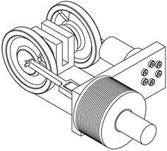 Stirling-Motor Motor A Vapor, Mini Steam Engine, Stirling Engine, 3d Cnc, Engine Repair, Small Engine, Mechanical Design, Electric Power, Arduino