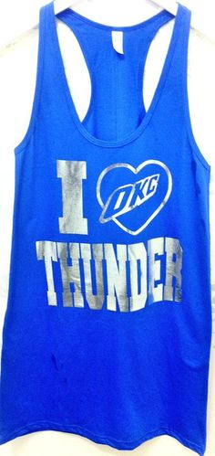 Thunder up! (Im not even a crazy pro bball person, but I love OKC so thunders it is)