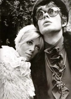 John Crittle of Dandie Fashions with his wife Andrea 1968