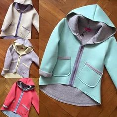 sueters Diy Decorating diy home projects Kids Winter Fashion, Fashion Design For Kids, Sewing Baby Clothes, Diy Clothes, Young Fashion, Girl Fashion, Baby Dress Patterns, Baby Coat, Handmade Clothes