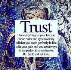 put your trust in love ...