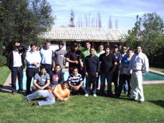 Grupo 1 tecnicos Movistar en Mallarauco