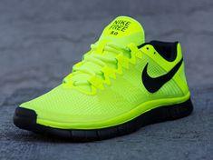 Nike Free Trainer 3.0 – Volt – Black