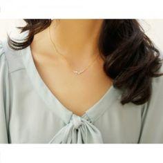 [www.accessory15.com] - Necklaces - $20    #jewelry #locket #pendant #strand #string #bangles #charm #brass #necklace #stone #trinket #medallion #fashion #rosary #accessory15