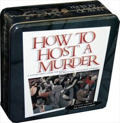 How to Host a Murder Mystery Party; The Chicago Caper - Tin Collector Edition