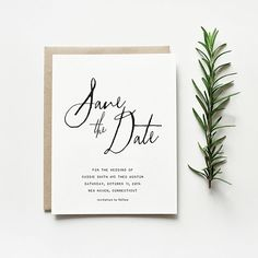 Paperlust // Save the Date Wording Guide