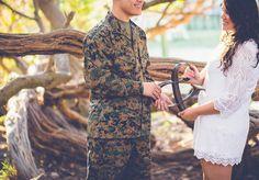 & sign | Engagement Poses | Military Wedding | Military Engagement | Park Engagement | San Francisco Engagement | Rubidia C Photography