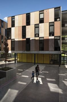 Carlaw Park Student Accommodation by Warren and Mahoney / Nicholls Lane, Parnell, Auckland, New Zealand