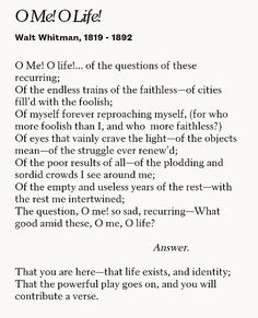 essays on walt whitman song of myself