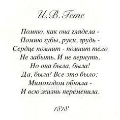 #литература #стихотворение #поэзия #стихи #гете