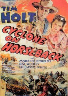 Cyclone on Horseback - Edward Kelly -1941