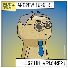 Because the stuff I post is 90% full of crap; this April Fool's Day I thought I'd post something that's true... #isleofwight #iow #banter #illustration #cartoon #2dart #graphicdesign #caulkheads #islandlife #humour #AndrewTurner #MP #AprilFoolsDay #plonker #Conservatives