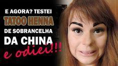 TESTEI: HENNA GEL DE SOBRANCELHA - TINT MY BROWS #testei #resenha #sobrancelha #sobrancelhas #henna #hennagel #maquiagem #makeup #blog #youtube