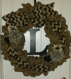 My wreath design