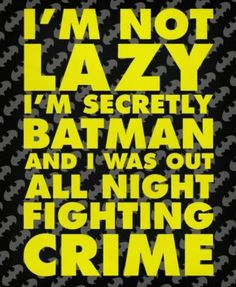♡ i'm Batman !!