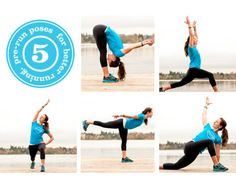 Going to have to try this!  5 Pre-Run Yoga Poses for Better Running