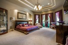 What a luxurious bedroom! Coldwell Banker D'Ann Harper, REALTORS®