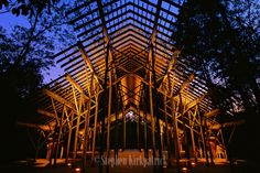 architect fay jones | The Pinecoat Pavilion inside the Crosby Arboretum is recognized by the ...