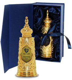Luxurious gold TORAH anointing oil bottle from the Holy Land - Blessings from Jerusalem. ® This high quality ceremonial anointing oil designed for all ministering to spiritual needs within the body of Christ, the church. Use as led by His Holy Spirit Communion Cups, Psalm 45, James 5, City Of God, Spiritual Needs, Kiddush Cup, Oil Light, Olive Oil Bottles, Rose Of Sharon