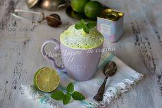 La mug cake alla menta e lime non è altro che una torta mescolata e cotta in una…