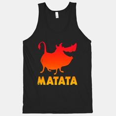 Hakuna Matata (Pumba Tank) | HUMAN  I want this! Great idea for a themed party or race....friend wears Timon!