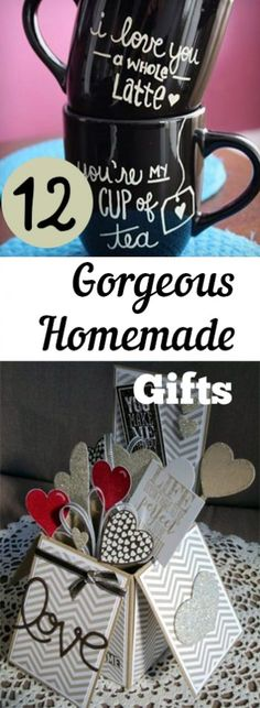 Homemade GIfts, Gorgeous Homemade Gifts, Cool Handmade Gifts, Unique DIY Gifts, DIY Gifts, Thoughtful Gifts, Inexpensive Thoughtful Gifts, Popular