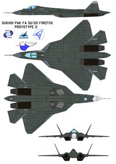 sukhoi pak fa su-50 USAF by Davinci975