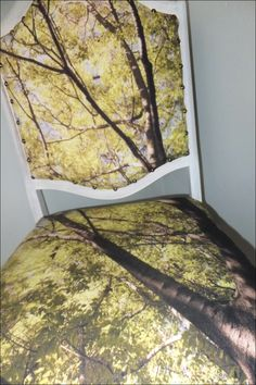 Wooded forest Custom printed fabric