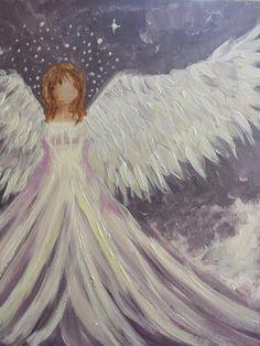 Amy. Guardian angel.by Berini Silcock