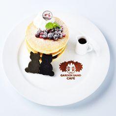 Sailor Moon Party, Panna Cotta, Pancakes, Breakfast, Ethnic Recipes, Studio Ghibli, Food, Flower, Twitter