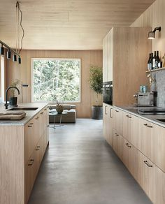Barn Kitchen, Home Decor Kitchen, New Kitchen, Home Kitchens, Oak Kitchen Cabinets, Grey Kitchen Designs, Interior Design Kitchen, Küchen Design, House Design