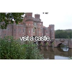 but not just any castle. *cough* merlin *cough*
