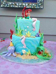 Little Mermaid Party Ideas - Bing Images