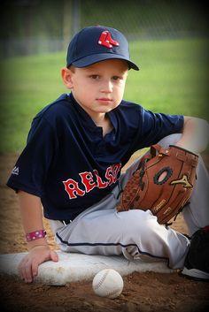 Youth Baseball Photography Ideas
