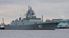 Según un subcomandante de la Armada rusa, el país recibirá próximamente tres sigilosas fragatas pertenecientes al proyecto 22350. Las naves, que están adaptadas para operar en alta mar, se han construido a partir de materiales compuestos y siguiendo tecnología 'stealth'.