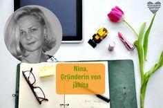 Nina Gottschlich, Gründerin von jakita