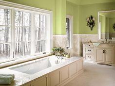 Mint Green Laundry Room