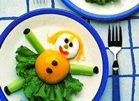 Kids love making this good-for-you salad!  It never turns out the same way twice!