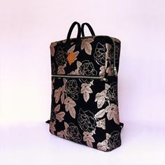 Dance through autumn with Madicken Backpack.The pattern on this backpack is hand printed in the metallic shade of copper with a slight shimmer of nacre, on a black cotton base. Made in Finland. Black Cotton, Finland, Metallic, Copper, Shades, Base, Backpacks, Autumn, Printed