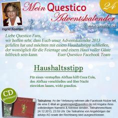 Das 24. Türchen unseres Adventskalenders ist geöffnet. www.questico.de