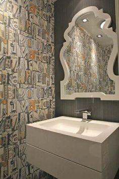 9 SELVAS MARISCAL   LETTERS AND TYPES Papier Peint Toilette, Tableaux  Du0027inspiration,