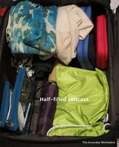 Minimal packing for winter travel - good to keep in mind for my upcoming denver trip!!!!