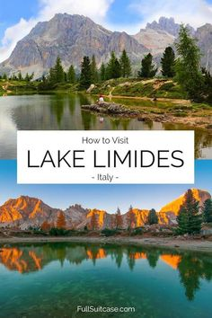 How to Visit Lake Limides (Lago di Limides): Shortest Hike & Tips Top Travel Destinations, Europe Travel Guide, Amazing Destinations, Italy Travel, Travel Tips, Italy Holidays, Visit Italy, Best Hikes, European Travel