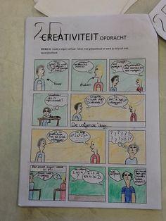 Creativiteit strip