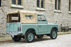 "Land Rover Series 2a 88"" 1962 Softop Nut & Bolt Restoration (366 YUH) - Williams Classics"